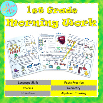 1st Grade Morning Work / Homework / Bell Work FREE 10 DAYS