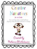 1st Grade Narrative Writing- Common Core Aligned