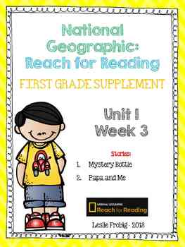 1st Grade National Geographic Reading Series: Reach for Re