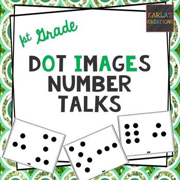 1st Grade Number Talks: Dot Cards