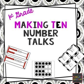 1st Grade Number Talks: Making Ten