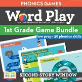 1st Grade Phonics Games
