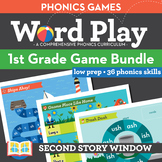 1st Grade Phonics Games