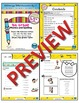 1st Grade Phonics and Spelling D'Nealian Week 30 (-er, -es