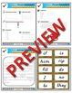 1st Grade Phonics and Spelling D'Nealian Week 3 (short i,