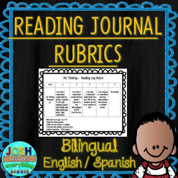 K-2 Reading Log Rubrics in English and Spanish