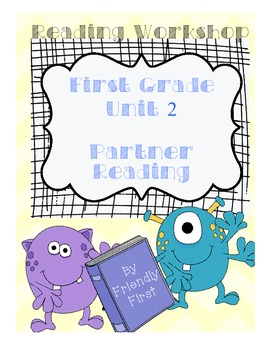 1st Grade Reading Unit 2 Charts & Teaching Points