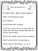 1st Grade Reading Wonders Unit 1 Week 4 Guided Reading & A