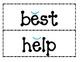 1st Grade Saxon Phonics Spelling List 6