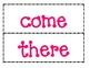 1st Grade Saxon Phonics Spelling List 9 Word Wall Words
