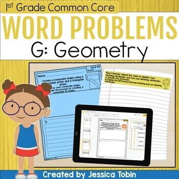 1st Grade Short Answer- Geometry