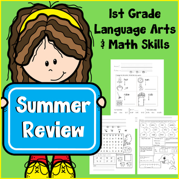 1st Grade Skills Review Packet (Summer Edition - 67 pages!)