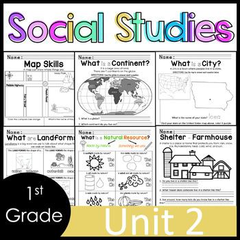 1st Grade - Social Studies - Unit 2 - Maps, Government, Voting