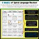 1st Grade Language Homework 1st Grade Morning Work 1st Qua