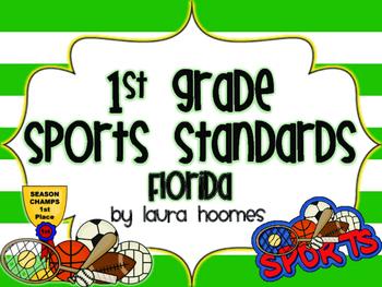 1st Grade Sports Standards FLORIDA