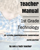 1st Grade Technology (5th Ed): 32 Lessons Every 1st Grader