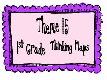 1st Grade, Theme 15 Literacy By Design Graphic Organizers