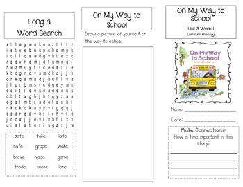 1st Grade UNIT 3 WEEK 1-What Time Is It?: Brochure McGraw