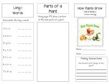 1st Grade UNIT 3 WEEK 2-Watch It Grow: Brochure McGraw Hil