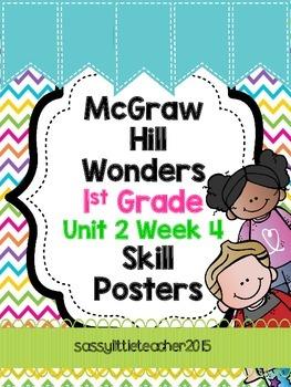 1st Grade Unit 2 Week 4 Skill Posters