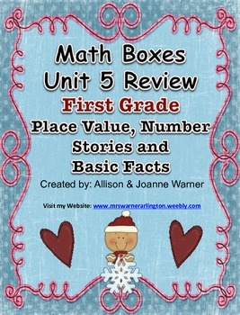 1st Grade Unit 5 Review Everyday Math ~ Place Value and Nu