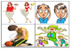 1st Grade Vocabulary Picture Matching Short Read Task Card