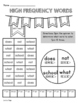 1st Grade WONDERS High Frequency Word Activities Unit 1