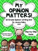 1st Grade WRITERS WORKSHOP Bundle - 2 Units - Opinion and