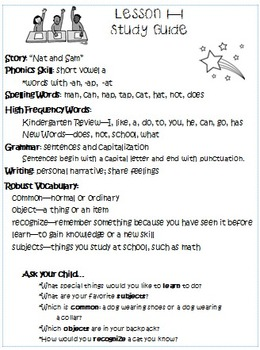 1st Grade Wonders Study Guides for Units 1,2, and 3