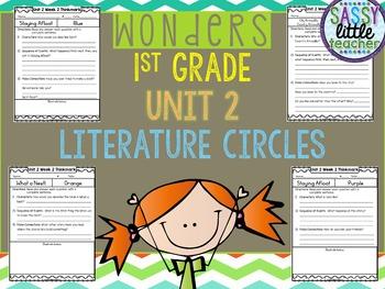 1st Grade Wonders Unit 2 Literature Circles