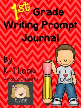 1st Grade Writing Prompt Journal!