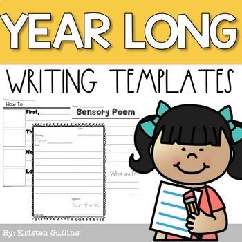 First Grade Writing Templates