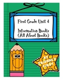 1st Grade Writing Unit 4 Charts & Teaching Points