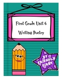 1st Grade Writing Unit 6 Charts & Teaching Points