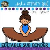 ~*First grade sub plans