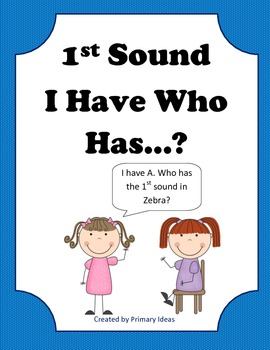 1st Sound I Have.. Who Has?