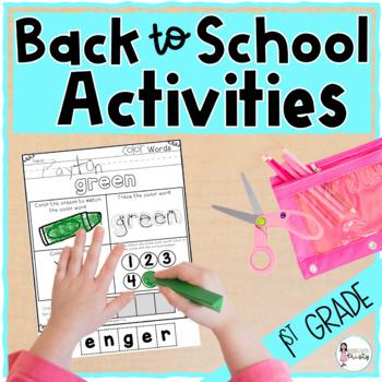1st Week in 1st Grade