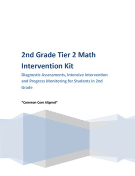 1st and 2nd Grade Diagnostic, Intervention and Progress Mo