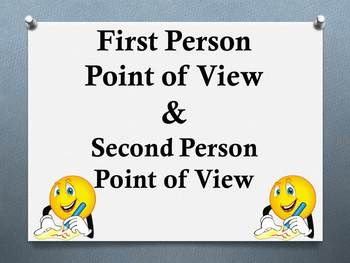 1st and 2nd Person Point of View Presentation