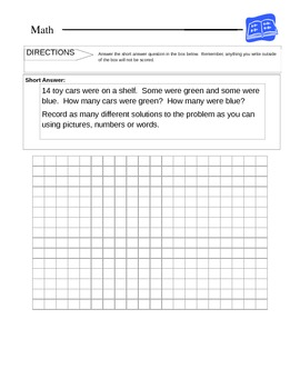 1st grade Addition and Subtraction Word Problems