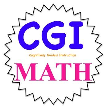 1st grade CGI math word problems-- 3rd set-- WITH KEY-Comm