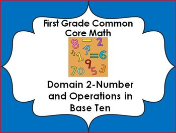 1st grade Common Core Lessons-Domain 2 (Number and Operati