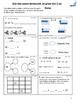 1st grade November Math Class & Homework with Constructed