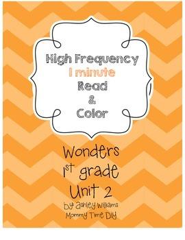 Wonders HFW Fluency - Unit 2