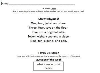 1st grade reading street 1.R Street Rhymes