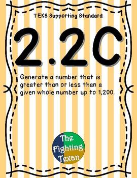 2.2C: Greater Than & Less Than Math Problems
