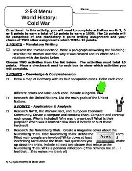 2-5-8 Cold War