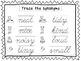 2 Cursive Trace the Synonyms Worksheets. KDG-2nd Grade Han