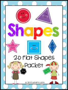 2-D Flat Shapes Packet