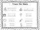 2 D'Nealian Trace the Nouns Worksheets. Preschool-2nd Grad
